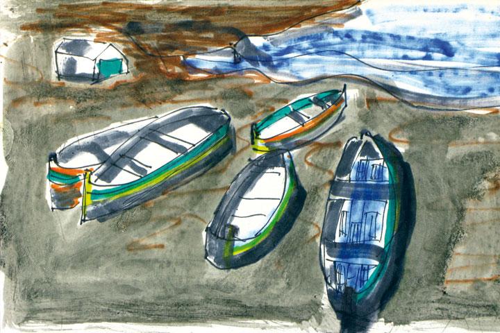 Pintura-barcas