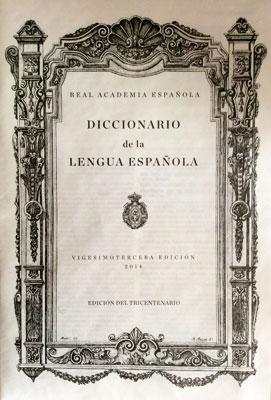 Diccionario-tricentenario