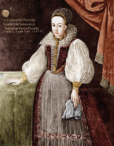 Retrato de Erzsébet Báthory