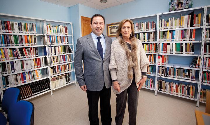 Ricardo Sánchez Antúnez y Consuelo García Píriz. © Luis Serrano