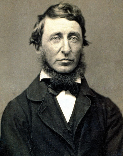 Henry David Thoreau. © National Portrait Gallery, Whashington