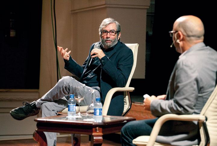 Antonio Muñoz Molina y Alejandro Duque. © Luis Serrano