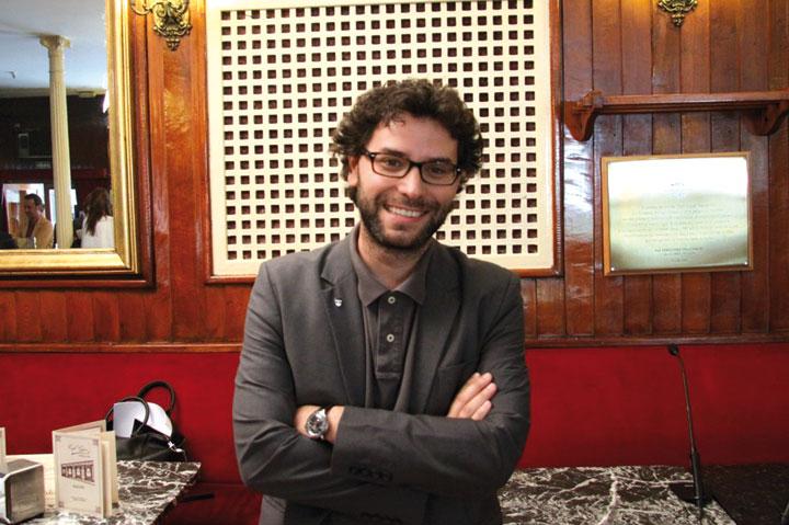 Miguel Ángel González. © Javier Oliaga