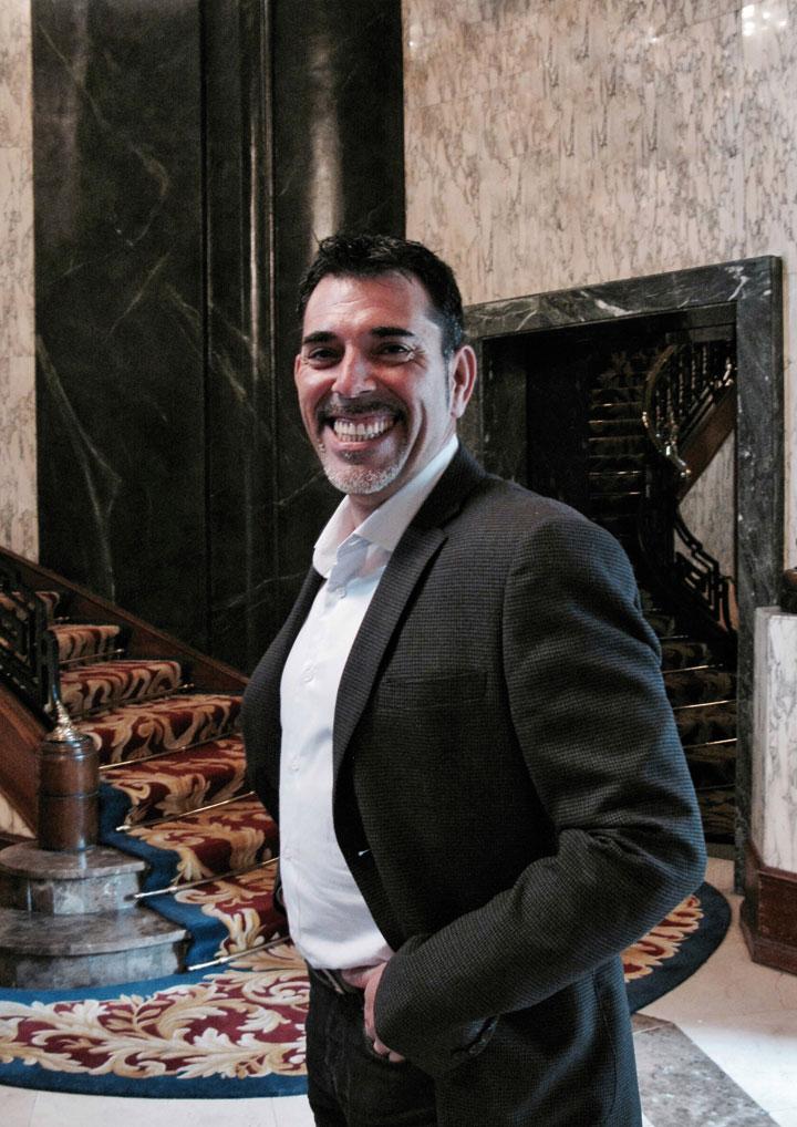 Víctor del Árbol. © Ricardo Martín