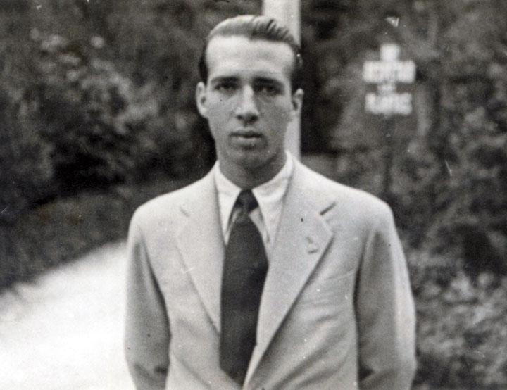 Juan Eduardo Cirlot. © Archivo de la Fundación Carlos Edmundo de Ory
