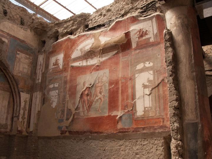 Yacimiento arqueológico de Herculano. © Ricardo Martín