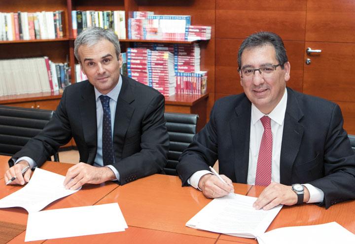 José Manuel Lara García y Antonio Pulido