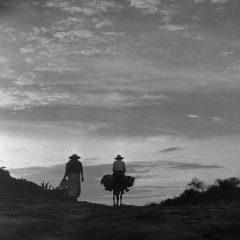 Arrieros en un camino. © Herederos de Juan Rulfo