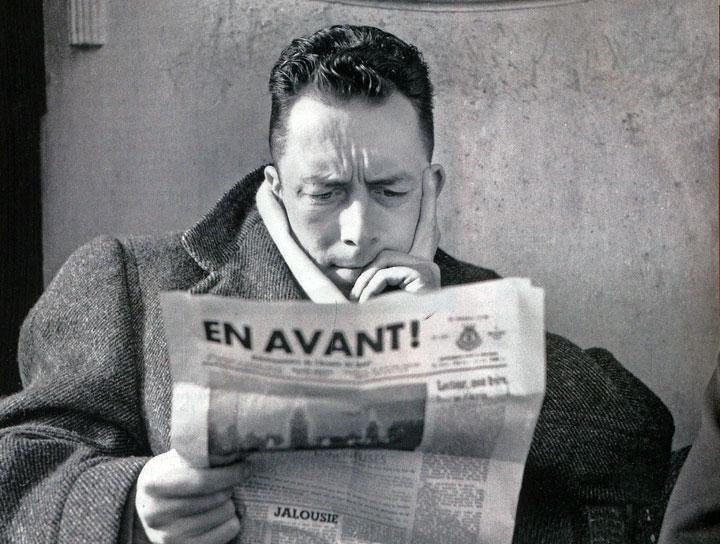 Albert Camus. © René Saint-Paul
