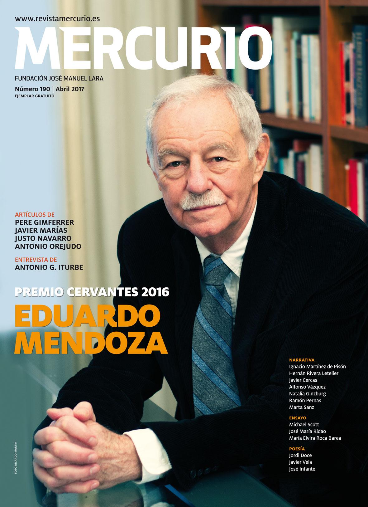 Mercurio 190. Abril 2017. Foto Ricardo Martín