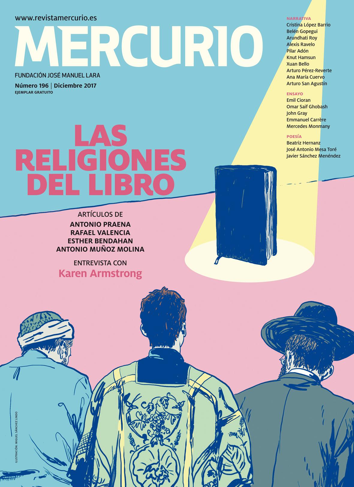 Mercurio 196. Diciembre 2017. Ilustración: Miguel Sánchez Lindo