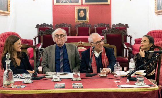 Mesa redonda de los poetas Josefa Parra, Antonio Jiménez Millán, José Ramón Ripoll y María Alcantarilla