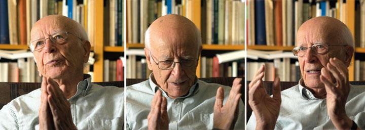 Emilio Lledó. © Ricardo Martín