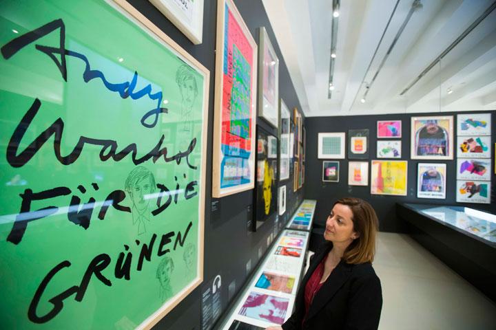 Exposicíón 'Warhol. El arte mecánico' en CaixaForum