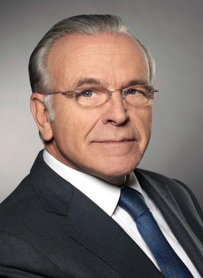 """Isidro Fainé, presidente de la Fundación Bancaria """"la Caixa"""""""
