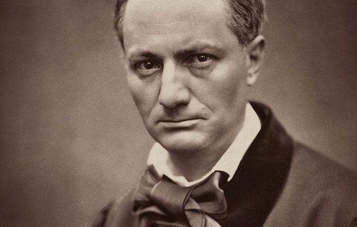 Charles Baudelaire. © Étienne Carjat