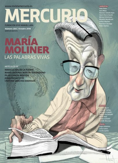 Mercurio 204. Octubre 2018. Ilustración: Fernando Vicente