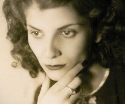 Elizabeth Jane Howard (Londres, 1923- Suffolk, 2014) en un retrato de juventud.