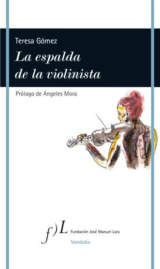 La espalda de la violinista