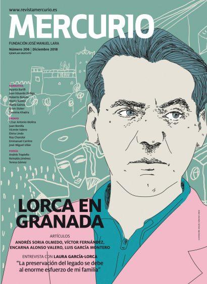 Mercurio 206. Diciembre 2018. Ilustración: Miguel Sánchez Lindo