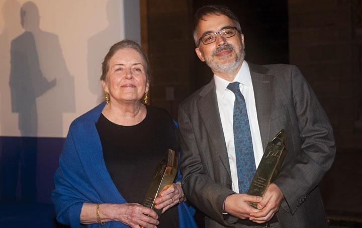 Carolyn Richmond y José Manuel García Gil, ganadores de la pasada edición. © Luis Serrano