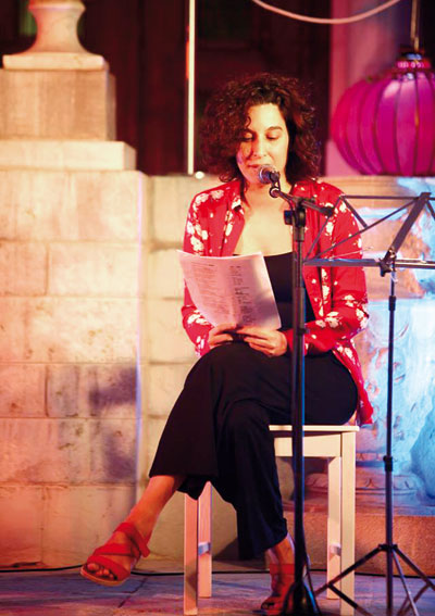 Olalla Castro. © María de la Cruz