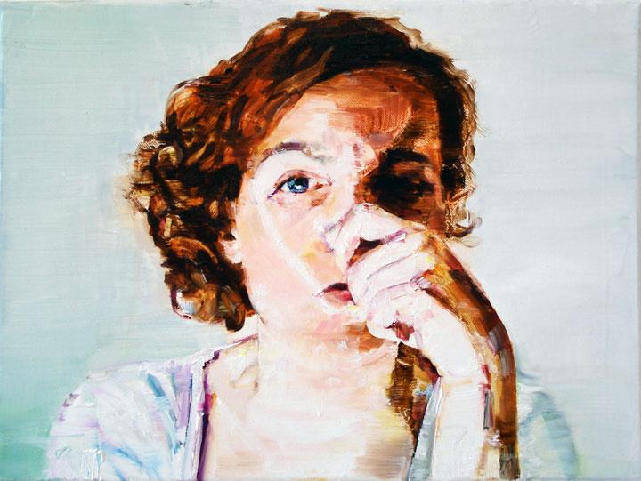 Autorretrato de Silvia Cosío.